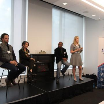 Panel at Anchor Ventures inaugural meeting