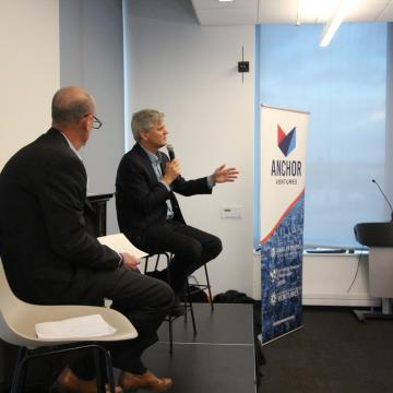 George Davis and Steve Case
