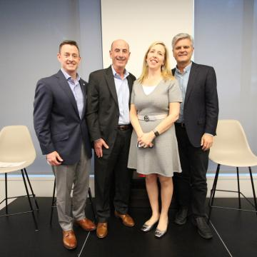Group photo with George Davis and Steve Case
