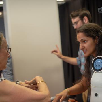 Exhibitor NextStep Robotics at The New Fabric of Baltimore event.